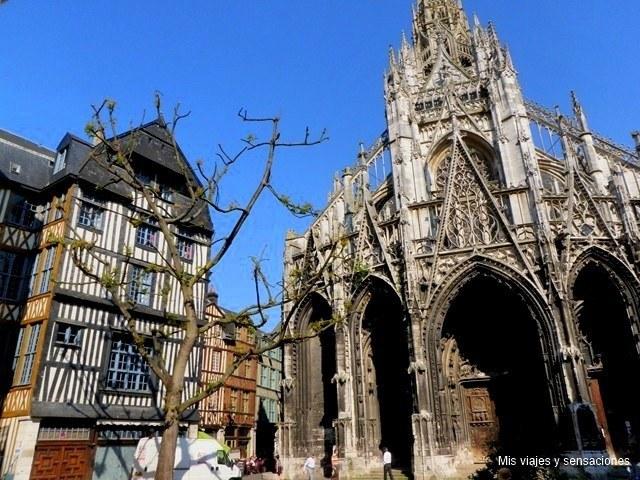 Iglesia de Saint Maclou, Alta Normandia, Francia