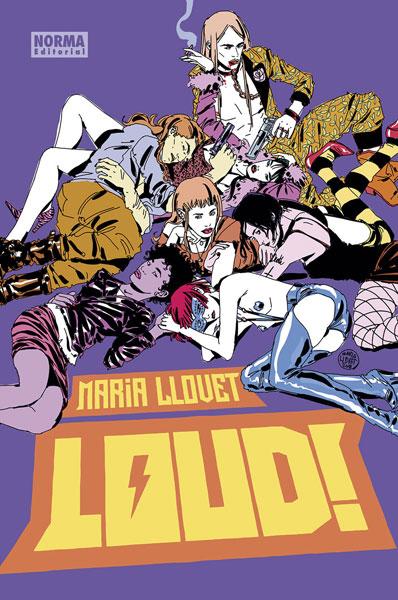 Review del cómic americano Loud! de Maria Llovet - Norma Editorial