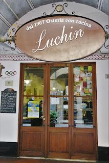 Osteria Luchin in Chiavari, Liguria.