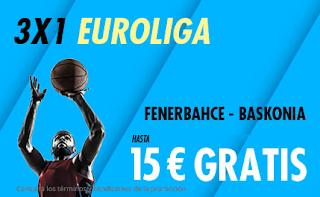 suertia promo Euroliga Fenerbahce vs Baskonia 17-10-2019