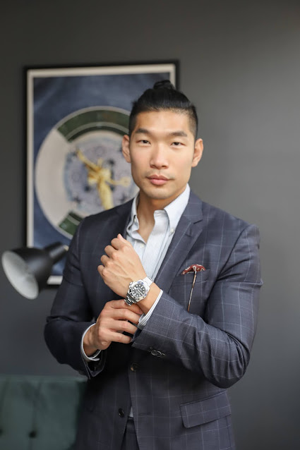 Leo Chan Rolex GMT Master: Watchfinder & Co NYC Luxury Watch Showroom