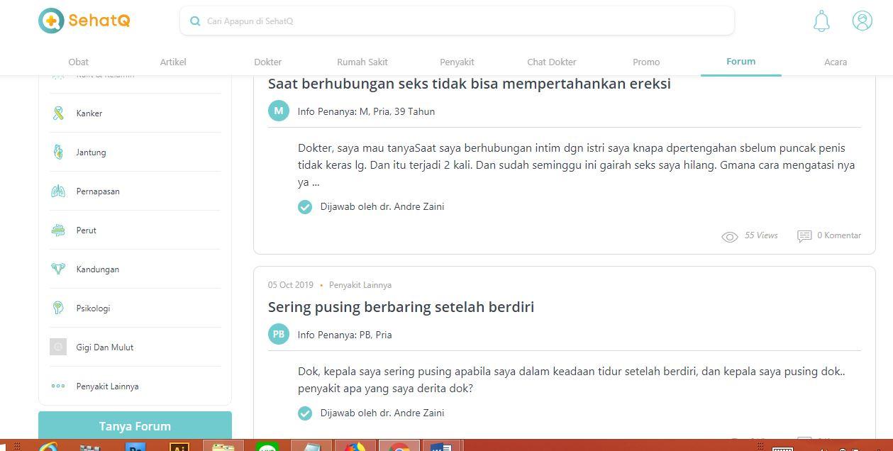 Mengenal SehatQ.com, Platfrom Kesehatan Terpercaya di Indonesia