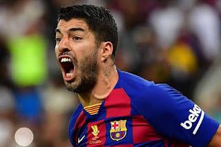 Luis Suarez: 'Our job is to finish La Liga with honour Barca jersey
