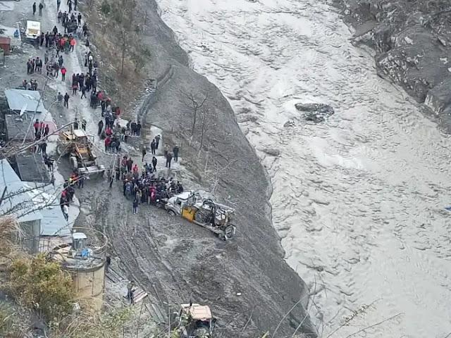 Chamoli Uttarakhand Glacial Outburst flood