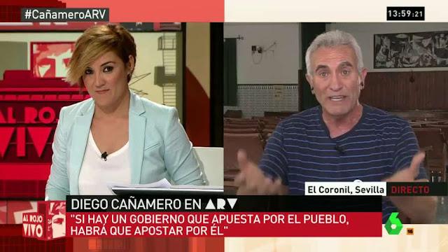 """Cañamero sobre el PP: """"en cada Consejo de Ministros hay que echarse las manos a los bolsillos"""""""