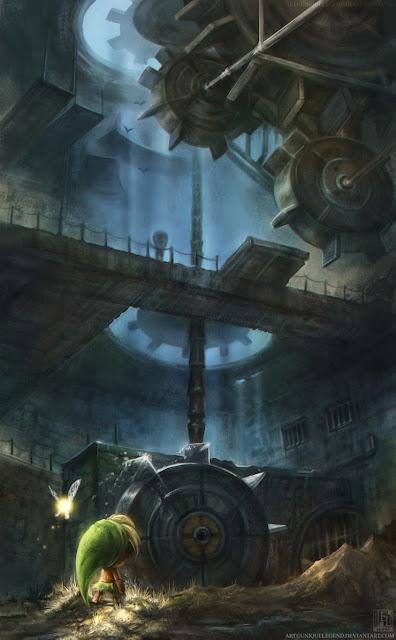 Ilustraciones inspiradas en el juego de Zelda