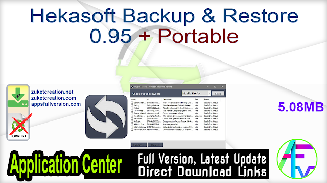 Hekasoft Backup & Restore 0.95 + Portable