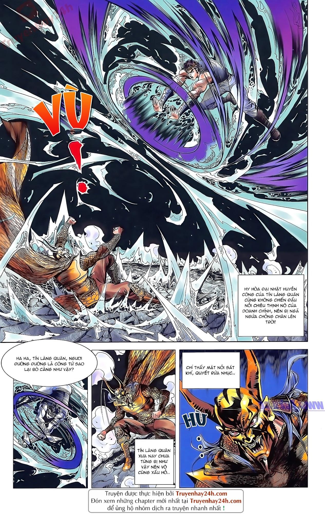 Tần Vương Doanh Chính chapter 49 trang 18