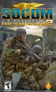 SOCOM - U.S. Navy SEALs Fireteam Bravo 2 PSP CSO
