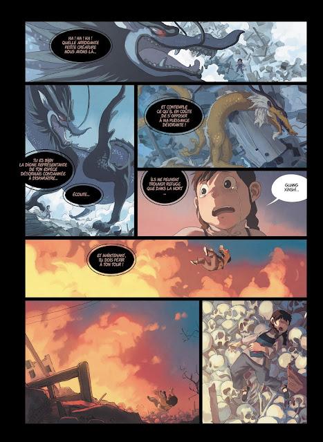Yin et le dragon tome 3 nos dragons éphémères Rue de Sèvres page 2