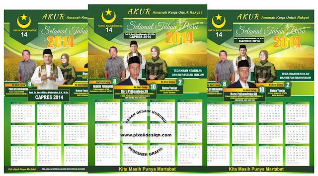 Iklan Kalender Caleg