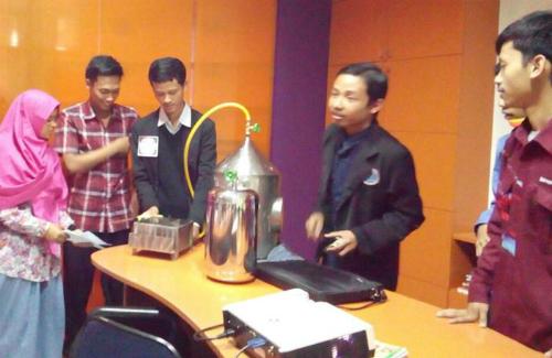 Pencipta Kompor Bahan Bakar Air Dede Miftahul Anwar