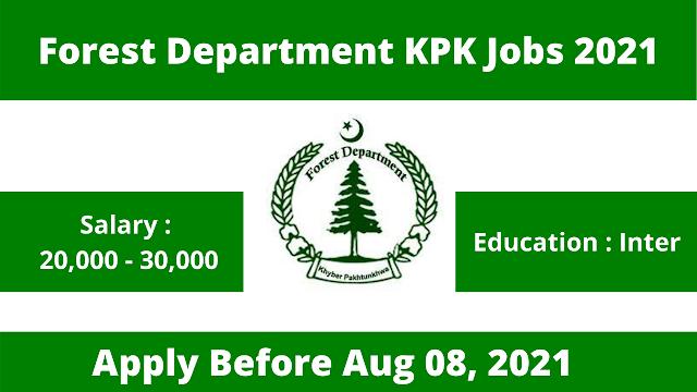 Forest Department KPK Jobs 2021