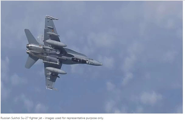 Russian fighter jet intercepts U.S. reconnaissance planes over Black Sea: reports