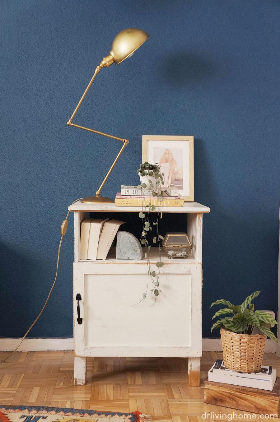 Ikea hack mesilla de noche r stica blog decoraci n con - Ikea mesitas de noche y comodas ...