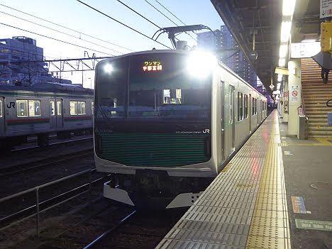 宇都宮線 宇都宮行き EV-E301系