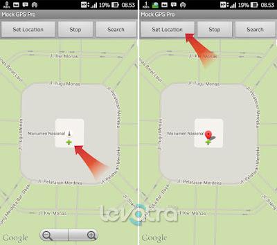 Cara Mengubah Lokasi GPS Pada Pokemon GO Dengan Fake GPS Location