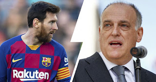 I never wanted to be at war with Leo Messi: La Liga president Javier Tebas
