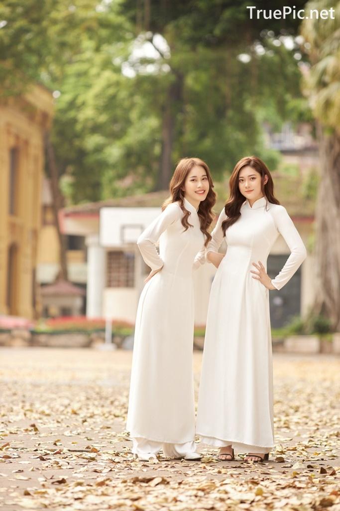 Image Vietnamese Model - Vietnamese Student Dresses (Ao Dai) - TruePic.net - Picture-1