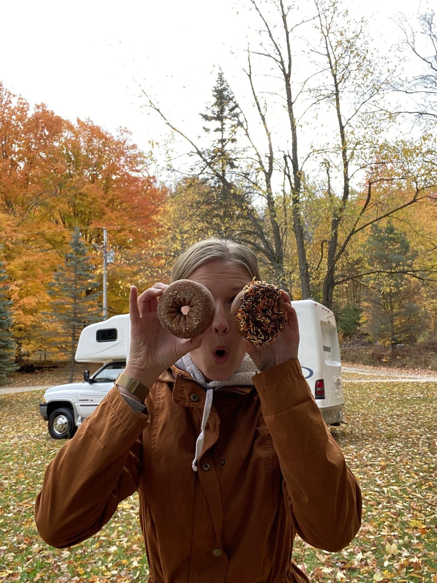 Donut Eyes | biblio-style.com