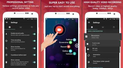 App Screen recorder grabador