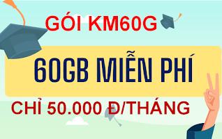 Gói cước KM60G VinaPhone