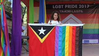 LGBT Pride East Timor 2017 East Timor Law Justice Bulletin Warren L Wright
