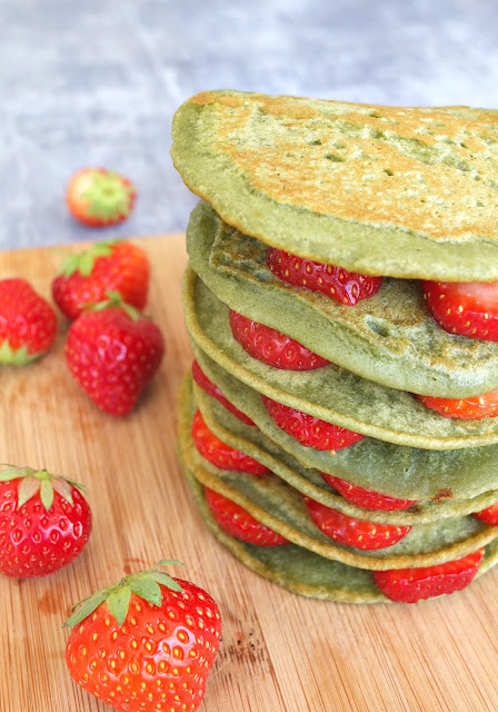 3 Ingredient Super Green Pancakes
