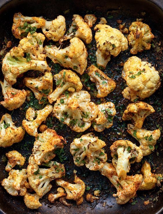 Make the most of the humble cauliflower with Madhur Jaffrey's simple recipe Roasted Cauliflower with Punjabi Seasonings. This dish makes for an excellent midweek meal served alongside pickles and rice.