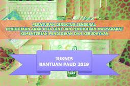 Kumpulan 8 Juknis Penyelenggaraan PAUD TK KB TPA Terbaru