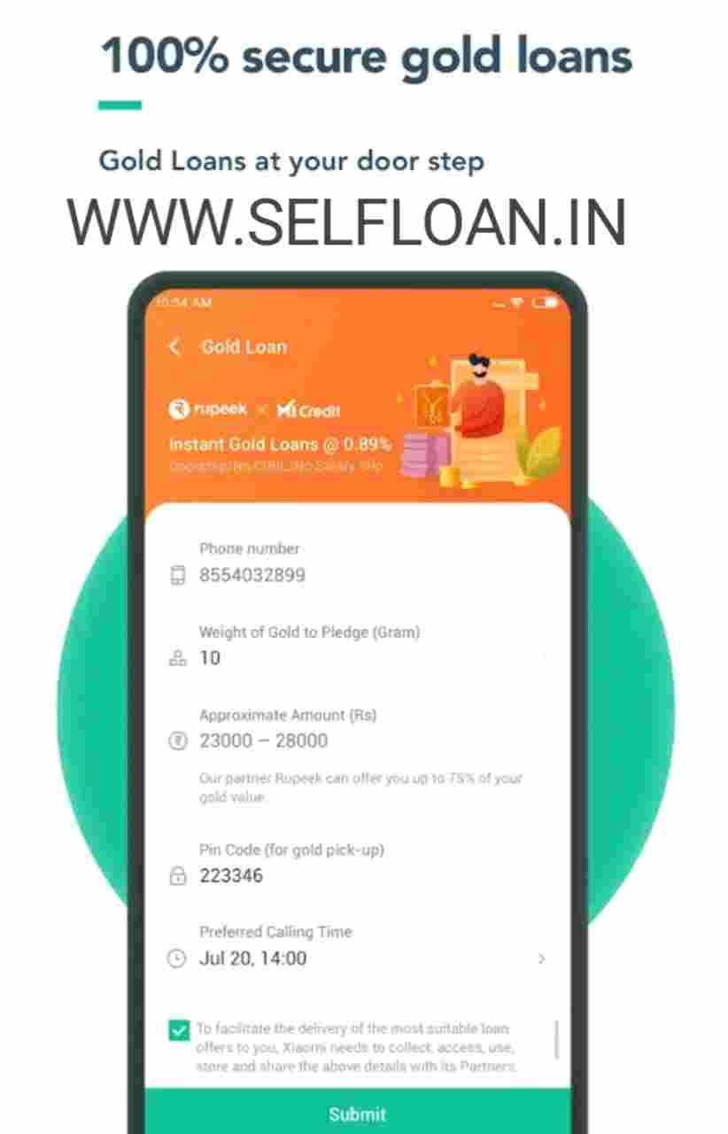 Mi credit se personal loan apply online kaise kare