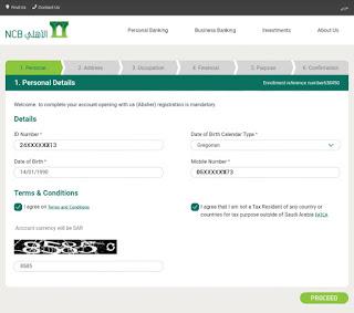 Open NCB Bank Account