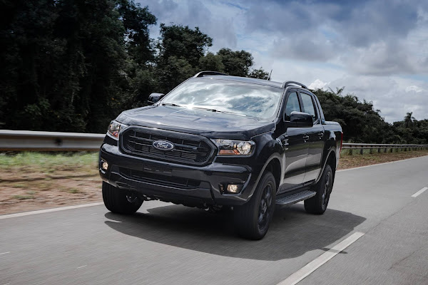 Ford Ranger Black 2021 Diesel Automática chega com preço de R$ 179.900