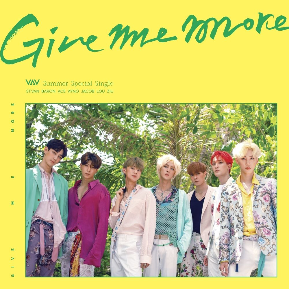 VAV – GIVE ME MORE – EP (FLAC + ITUNES MATCH AAC M4A)