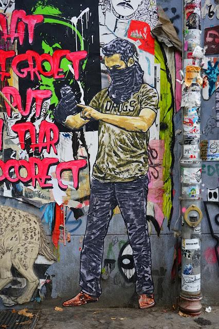 Le Chameau Bleu - Graffeur - Séjour à Berlin