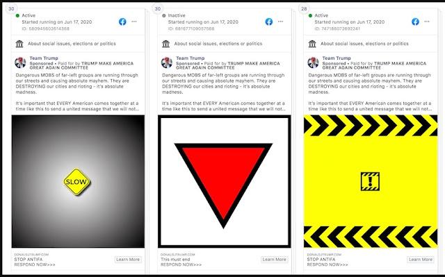 Facebook gỡ bỏ quảng cáo dùng biểu tượng của phát-xít của ông Trump