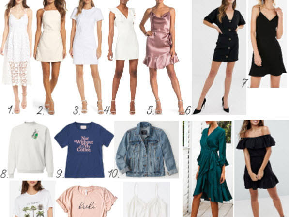 Wedding Wednesday: What I'm Packing for our Honeymoon!