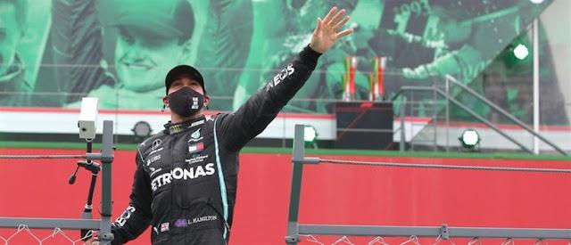 Έγραψε ιστορία ο Χάμιλτον και έγινε ο πολυνίκης της Formula 1!