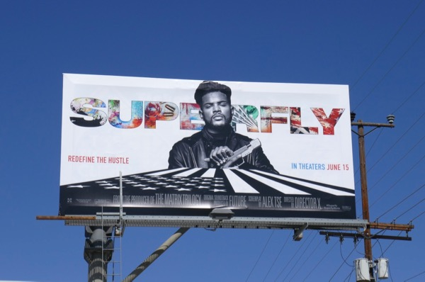 Superfly movie billboard