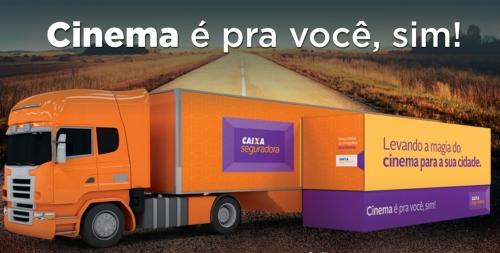 """Olímpia recebe na próxima semana o projeto """"Cinema é pra você, sim!"""""""