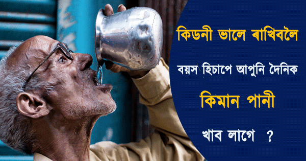 Amount of Water We should Drink Per Day