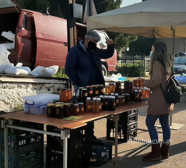 Στυλίδα: Επίσκεψη κλιμάκιου του ΚΚΕ στην Λαϊκή Αγορά Στυλίδας