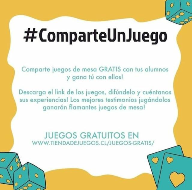 #ComparteUnJuego 🤝
