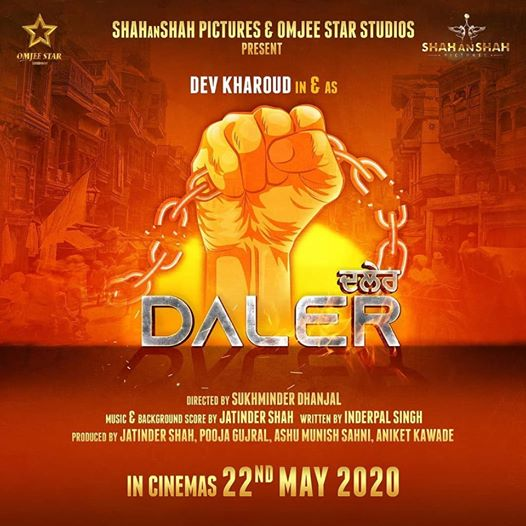 Daler next upcoming punjabi movie first look movie Dev Kharoud Poster of download first look, release date