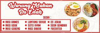 Banner Warung Makanan Terbaru