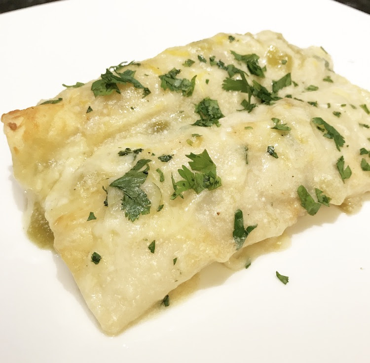 Low Fat White Chicken Enchiladas   A Polished Palate