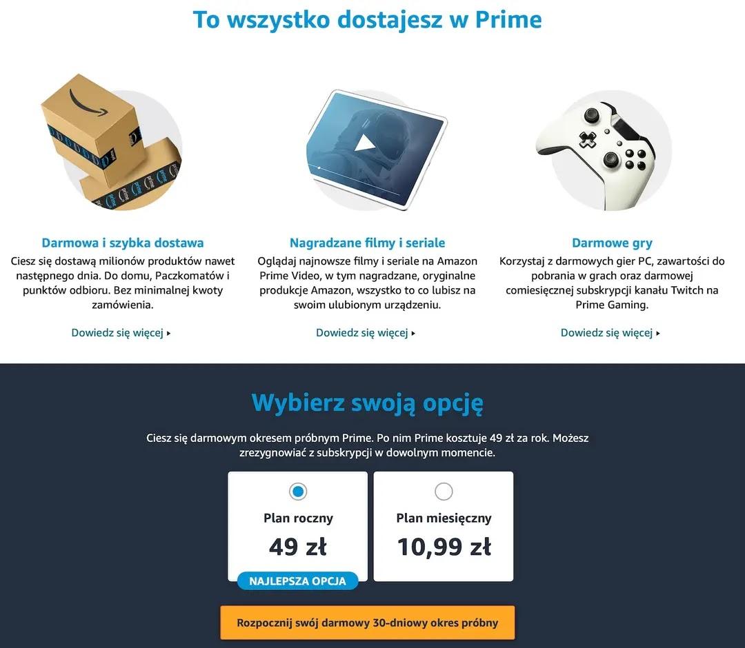 Oferta Amazon Prime