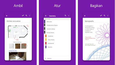 Microsoft OneNote - Atur Notes