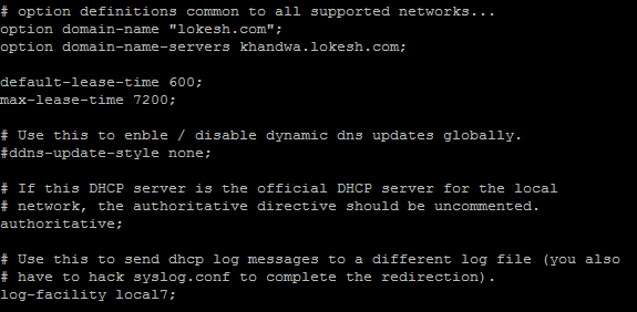 How To Configure DHCP Server in Linux | Configure DHCP Server