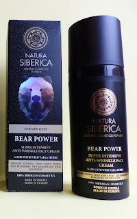 Imagen Crema Antiarrugas Intensiva El poder del Oso Natura Siberica para hombres